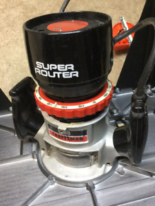 Sears Craftsman Super Router