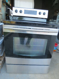 Samsung S.Steel Glass Top Convection Self Clean Stove