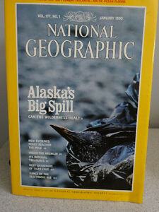 1990, 91 and 92 National Geographic books Cornwall Ontario image 3