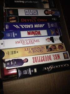 Over 200 VHS Movies.