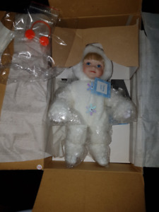 Ashton Drake Making Icicles Porcelain Doll - NEW In Box