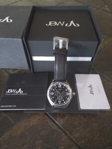 NEW JBW Mens J6310B Analog Japanese Quartz Watch