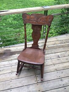 Antique Rocking Chair Peterborough Peterborough Area image 1