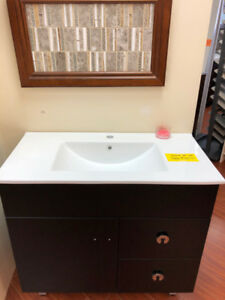 "30""+36"" Modern vanity whole set on SALE now!! very beautiful !!"