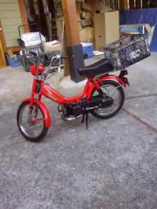 1982 Honda PA 50 II Moped decked out