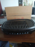 Grill - Cast Iron, Smokeless Indoor Grill