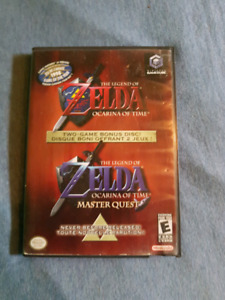 Zelda Ocarina of Time and Master Quest CiB