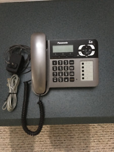Panasonic phone with answering system.