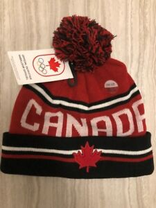 HBC PyeongChang 2018 Adult Team Canada Winter Olympic Toque Hat