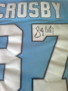 Crosby authentic autographed on ice jersey
