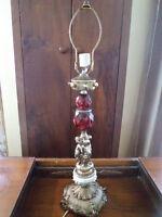 LAMPE SUR PIED BAROQUE