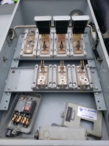 Fuse panel and switches