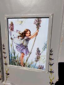 Unique pine fairy cabinet