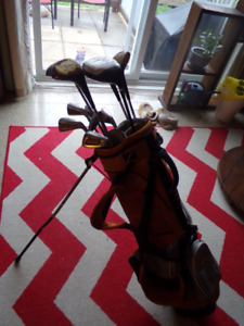 Golf Clubs & 2 Drivers