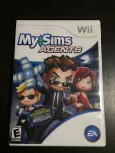 Wii My Simms Agents - Live the Adventure Uncover the Mystery