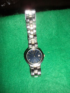 mens' quartz wrist watch by Embassy , new battery -- exc cond