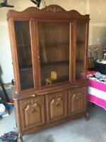 French Provincial buffet and hutch - want gone today!