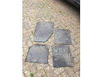 4 rubber car mats freebies