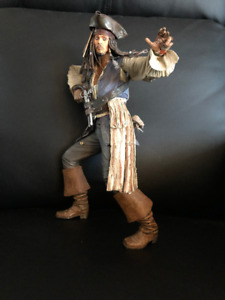 Pirates Of the Caribbean Jack Sparrow talking Figure