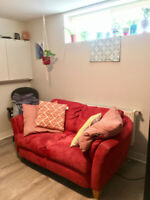 Seeking new roommate for two bedroom, basement apartment