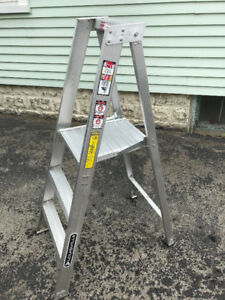 Louisville Ladder with Step Platform