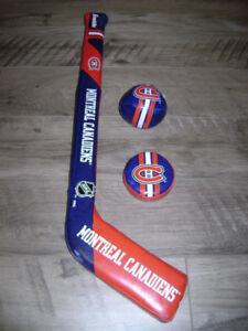 Ensemble de mini hockey Canadiens de Montréal