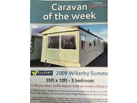 CHEAP STATIC CARAVAN FOR SALE ON SPECIAL OFFER NORTH WALES HOLIDAY PARK LOW SITE FEES £1995