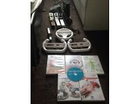 Nintendo wii for sale with games plus more