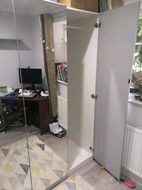 Ikea mirrored wardrobe