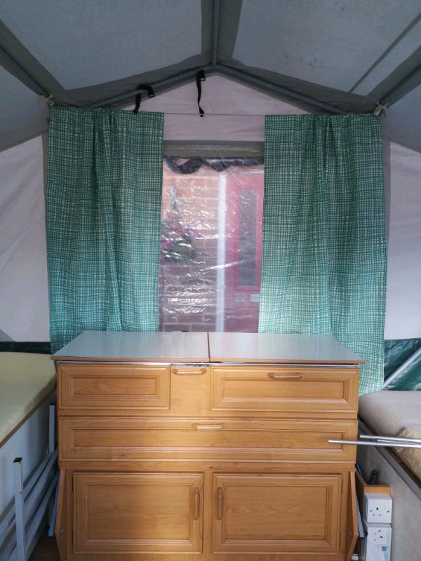 Pennine Aztec folding camper | in Lutterworth ...