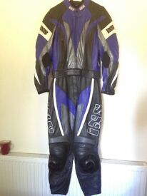 ISX Two piece leather motorbike suit