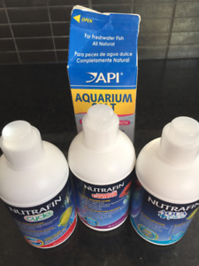 Fish tank chemicals and aquarium salt