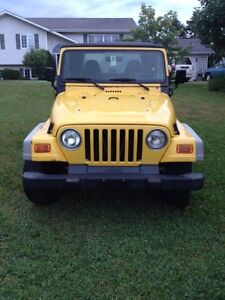 2001 Jeep TJ Sport Convertible