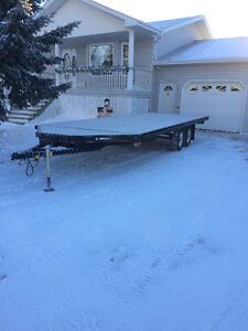 2010  4 Place Snowmobile Trailer