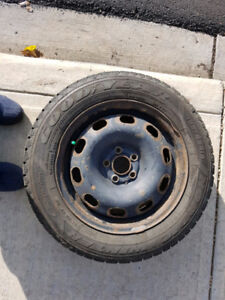 Excellent Condition, Tires with Rims, 185 65 15