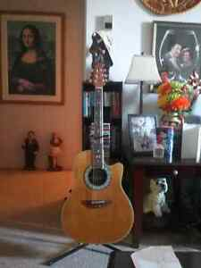 Ovation Celebrity 6 string accoustic/electric guitat