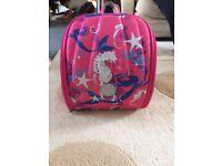 Yuu pink back pack
