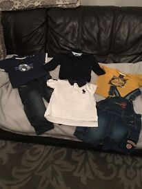 Baby boys designer clothes