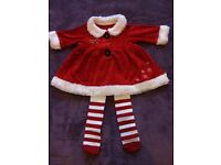 Baby girl christmas outfit 0-3 months