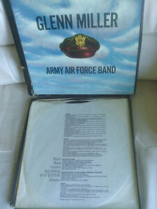 Glenn Miller Army Air Force Band Boxed Set Vinyl Records North Shore Greater Vancouver Area image 2