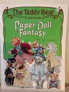 Teddy Bear & Friends Paper Dolls circa 1984
