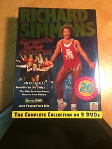 Richard Simmons Sweating to the Oldies boxed set London Ontario image 1