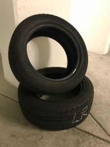 2 Bridgestone Turanza EL400-02 Tires - All Season