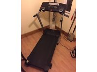 Rodger black treadmill