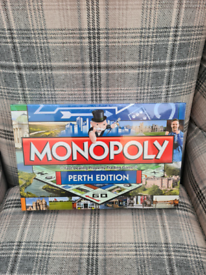 Monopoly Board Game- Perth Edition - BNIB