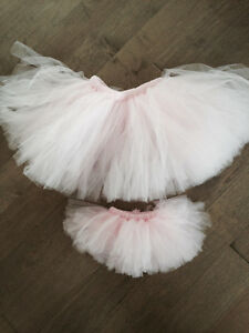 Matching tutus- mommy and baby