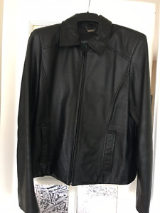 2 Women's Leather Jackets for Sale