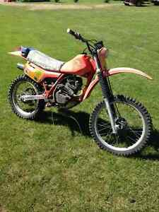 1983 XR200R Honda dirt bike