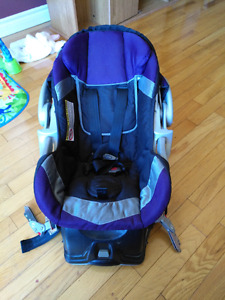 Baby Trend Purple Carseat and Base