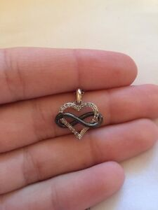 Heart and Infinity Necklace